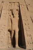 Abu Simbel Ramesses Wielka świątynia Fotografia Stock