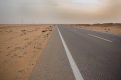 Abu Simbel Road Stockfotos