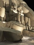 Abu Simbel - Sound and Light Stock Photo