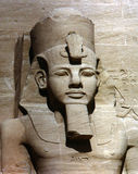 Abu Simbel statue Royalty Free Stock Photography