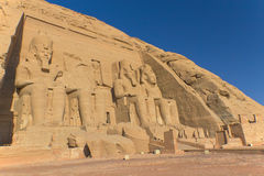 Abu Simbel Tempel (Ägypten) Lizenzfreie Stockbilder