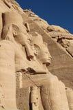 Abu Simbel Tempel Ägypten Lizenzfreie Stockfotos
