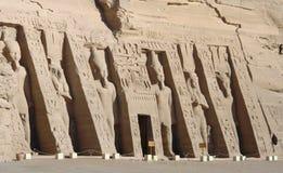 Abu Simbel-Tempel in Ägypten Stockbild