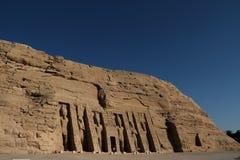 Abu Simbel-Tempel in Ägypten Lizenzfreies Stockbild