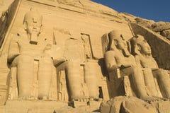 Abu Simbel Tempel Lizenzfreies Stockbild