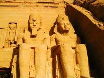 Abu Simbel Tempel lizenzfreie stockfotos