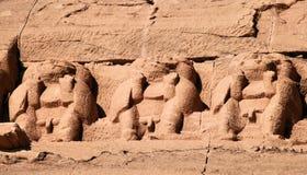 Abu Simbel Tempel 27 Lizenzfreie Stockfotografie