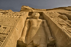 Abu Simbel Tempel 3 Stockbild