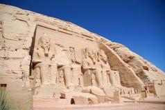 Abu Simbel Tempel Stockbilder