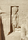 Abu Simbel-Tempel Lizenzfreies Stockfoto