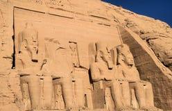 Abu Simbel Tempel 4 Lizenzfreie Stockfotografie