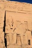 Abu Simbel Tempel 6 Stockfotos