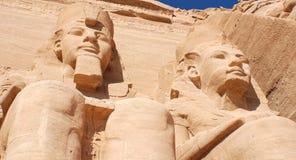 Abu Simbel Tempel Lizenzfreie Stockfotografie