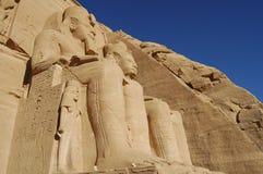 Abu Simbel Temple - Ägypten Stockfotografie