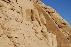Abu Simbel Temple - Ägypten Lizenzfreies Stockbild