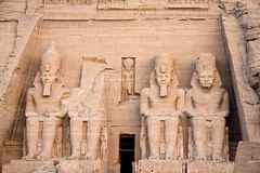 Abu Simbel temple Royalty Free Stock Photos