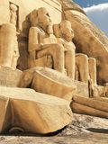 Abu Simbel Temple Royalty Free Stock Images