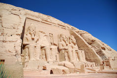 Abu Simbel Temple Stock Images