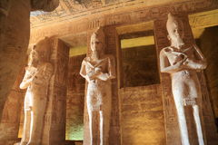 Abu Simbel Temple Images stock