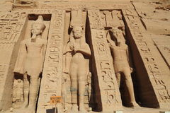 Abu Simbel Temple Stockbild