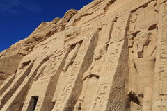 Abu Simbel Temple Stockfoto