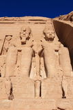 Abu Simbel temple, Egypt Stock Images