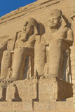 Abu Simbel Temple (Egypt) Royalty Free Stock Photos