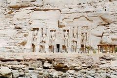 Abu Simbel Temple von Ramesses II, Ägypten Lizenzfreie Stockfotos