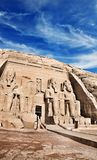 Abu Simbel temples, Ancient South Egypt. royalty free stock image