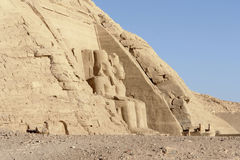 Abu Simbel temples in Egypt Stock Photography