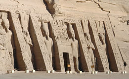 Abu Simbel temples in Egypt Stock Image