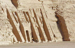Abu Simbel temples in Egypt Stock Photo