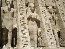 Abu simbelnefertari Fotografering för Bildbyråer