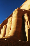 Abu Simble. Abu Simbel Rameses II the Great Royalty Free Stock Photos