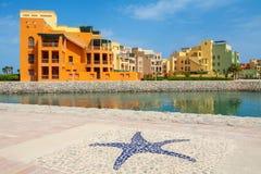 Abu Tig Marina. EL Gouna, Ägypten Stockfotos