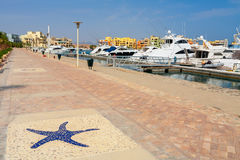 Abu Tig Marina. El Gouna, Egypt Royalty Free Stock Photo