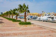Abu Tig Marina. El Gouna, Egypt Stock Photo