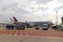 Abu-zabi Flughafen Stockfoto