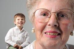Abuela foto de archivo libre de regalías
