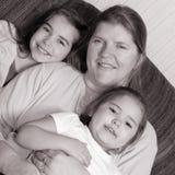 Abuela con los nietos Fotografía de archivo libre de regalías