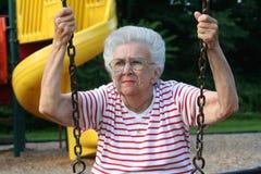 Abuela de balanceo 9 Fotografía de archivo libre de regalías