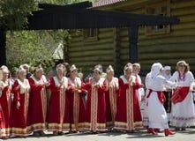 Abuela de Saratov Imágenes de archivo libres de regalías