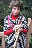 Abuela del jazz Fotos de archivo libres de regalías