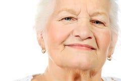 Abuela hermosa Fotografía de archivo libre de regalías