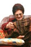 Abuela II Fotos de archivo
