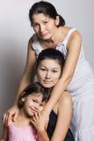 Abuela, madre e hija Foto de archivo