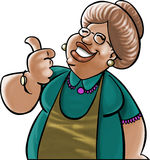 Abuela querida Stock de ilustración