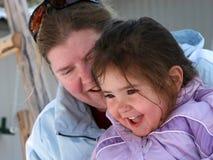 Abuela y nieta Foto de archivo libre de regalías