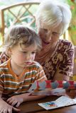 Abuelita Foto de archivo libre de regalías