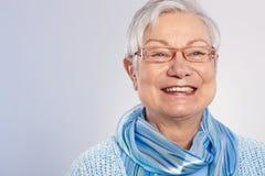 Abuelita feliz Fotos de archivo libres de regalías